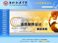 潍坊职业学院《C语言程序设计》精品课程